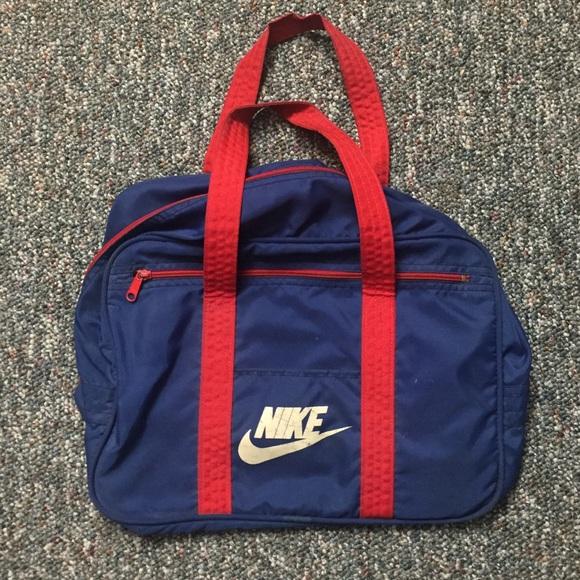 61d2b741b56 Nike Bags   Vintage 80s Duffel Bag Free Shipping   Poshmark
